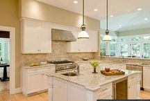 Home Ideas! Kitchens! / by Aimee Loker