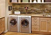 Home Ideas! Laundry Room! / by Aimee Loker