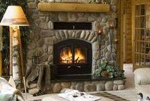 Home Ideas! Fireplaces! / by Aimee Loker