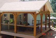 Home Ideas! Porches! / by Aimee Loker