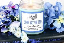 "Generally Bookish / No matter your favorite genre or fandom, these ""generally bookish"" candles have got your reading-inspired candle needs covered!"