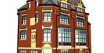 3D Commercial Buildings / Examples of some of the 3D Commercial Buildings we have drawn