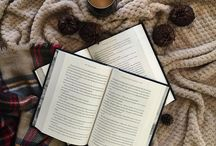 Books & Coffee / Two of my favorite things! (Unless we include candles too!)