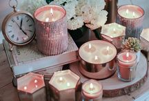 Candle Chic Decor / Decorate with candles!