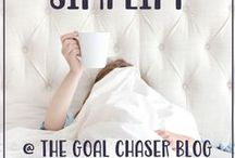 Simplify Life / End the overwhelm, get organized and simplify life!
