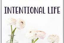 Balanced & Intentional Living / Balance & Intentional Living for Busy Mothers