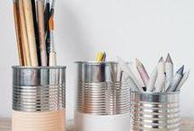 DIY-Gedanken / Natürliche Farben, schlichte Designs und Holz! Bist Du auf der Suche nach neuen Ideen für deine Wohnung? Bastelst Du gerne oder baust Deine Möbel am liebsten selbst? Dann wirst Du hier fündig!