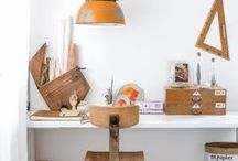 Workspace-Gedanken / Bist Du gerade dabei Dein Home-Office einzurichten oder willst Deinen Arbeitsplatz kreative und individuell dekorieren? Hier findest Du tolle Inspiration rund um den Schreibtisch!