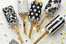 Silvester-Gedanken / Happy New Year! Das Neue Jahr steht vor der Tür. Hier kommen glitzerblitzer Ideen für deinen Silvesterabend, Outfits und Dekoration!