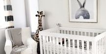 Nursery / nursery decor, rooms for baby, trends in nursery design and decorating
