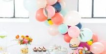 Showers & Party ideas / showers for baby bridal and more! Party ideas. Trendy and classic designs. Celebrate in style!