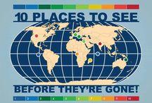 Travel (places, hacks, ideas)