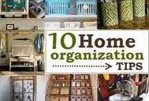Organization hints / by Darcy Garriott Howe