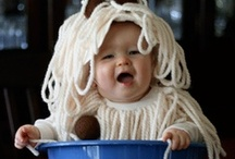 Baby Dress-up  / Nothing more fun than dressing up your babies for Halloween or any ole' time.