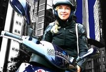 KYMCO and The City / Adventures of the city on full access KYMCO 150cc scooter! Taking you through highway and city streets with force..and style!