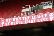 Banners in Emirates Stadium / A collection of all the banners inside the Stadium, most designed by fans on our Facebook page using our 'Build a Banner' app!