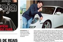 LR Ventures / Revista Veja edição 2309 desta semana — presso Editora Abril. www.lr-ventures.com.br