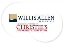 Willis Allen Real Estate + Christie's / View this board for information on Willis Allen's affiliation with Christie's, along with photos of beautiful properties around the world, antiquities, art, high-end furniture and more!