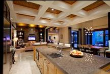 Gourmet Kitchens / Gourmet kitchens in homes listed for sale in San Diego, CA.