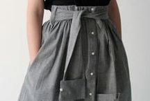 JUST SKIRTS / Ideas and designs for skirts and skirted pants. Cotton, linen, and mostly natural fabrics.