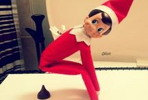 Elf on the Shelf / Ideas for Bill our naughty elf.