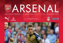 Arsenal Matchday Programme / Check out what we are creating...