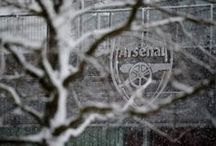 Arsenal in the Snow / A board with some beautiful pictures of Arsenal during those cold winter months.