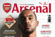The Arsenal Magazine / The Arsenal Magazine contains a host of exclusive features. WIthin the 100 pages are interviews, columnists, all the match stats and reports you'll need, as well as a 16-page 'Young Gunners' supplement – and lots more besides.