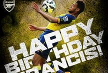 Happy Birthday / Happy birthday graphics for the first team. / by Arsenal Football Club