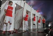 The launch of Arsenal's home kit for season 2015/16 / Arsenal and kit partner PUMA have unveiled the Gunners' 2015/16 home kit through a live show at Emirates Stadium.