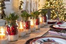 Holiday Tables / Inspiring tables for hosting during the holidays. Shop more kitchen & home on BLINQ: http://bit.ly/1LDzoiQ