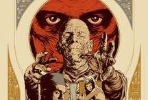 classic monsters / Arte, dibujos realizados a mano, fotografías, ilustraciones y caratulas de cine