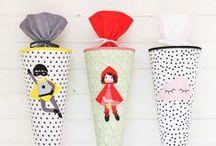 Schulanfang DIY / Schultüte, Zuckertüte basteln, Einladungskarten zur Einschulung basteln, DIY Deko, Party Deko