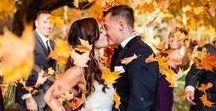 Automn wedding / Inspiracje dotyczące organizacji ślubu jesienią