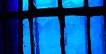 • bleu ~blue •