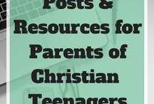 Parenting Christian Teens / This group board was created as a resource to parents to find resources and articles to help with raising Christian teenagers. Some posts are written to the parents and others are written to the teen. To be added, follow this board and e-mail me through my site at Transformed4more.com.