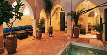 Riad Cinnamon / Riad Cinnamon is a beautifully restored merchants' house located in a quiet residential area in the heart of the Medina (Marrakech old town), just to the north of the famous souks and close to the renowned Marrakech museum.