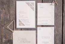Invitations + Stationary