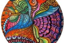Mandalas & Zentangles