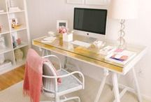 Lar doce lar - Home Office / by Fernanda Pacheco