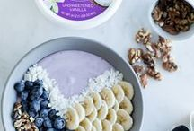 Dairy-Free Breakfast / Smoothie bowls and yogurt bowls perfect for any breakfast or brunch occasion!