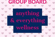 Anything + Everything Wellness Group Board / NEW group  board for physical & mental wellness bloggers. Please pin * LONG PINS ONLY * pertaining to  ANYTHING WELLNESS RELATED.  Fitness, Diet, Mental Health, Physical Health etc.  To join, please: 1. follow me, so I can send you an invite, and 2. send me a note on Pinterest requesting to join.   No limits... but please don't pin more than 3 at a time to allow others to pin, resulting in a better mix of pins... I hope.   Re-pin at least the same number of pins you've added.   I will delete any pins not matching the requirements above.   And, of course, no nudity, no spam, blah, blah, blah.