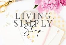 ➰ Living Simply Shop / Products to encourage you on your self-improvement journey | journals, posters, t-shirts, mugs, quote art, & lots more.  #mentalhealth #selfimprovement #personalgrowth #quotes #inspirationalquotes #motivationalquotes
