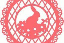 Szablony na Wielkanoc