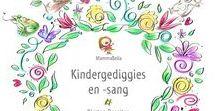 Kindergediggies en -sang, vol. 1 / Illustrations from my poetry and song album.