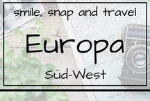 Europa | Süd-West / Urlaub in Spanien, Italien und Portugal Reiseempfehlungen, Tipps und Infos für die Reise, Outdoor, Architektur, Natur, Sehenswürdigkeiten, Sommer, Sonne, Strand, Meer, Travelblog