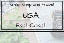 USA | East-Coast / Roadtrips oder Städtreisen im Osten der USA. Viele Reisetipps und Inspirationen.
