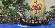 LEGO Viking - MOC / My own creation, viking theme, lego diorama