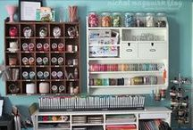 Craft Room Inspiration / Beautiful craft rooms - inspiration, motivation, organization