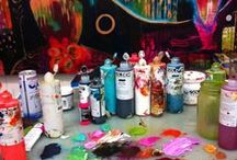 Art spaces / by Catina jane Gray